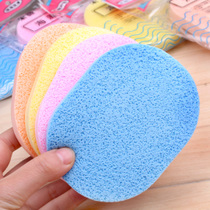 Thickened wash flutter hot seaweed cleansing flutter Makeup Beauty sponge puff remover wash cotton