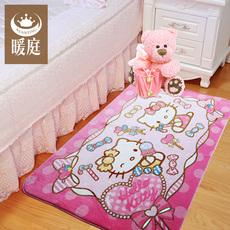 地毯卡通卧室哪个最好 卧室满铺地毯效果图双十一热卖 地