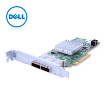 Dell 6GB SAS HBA card PCI-E socket (2 x 4 External SAS ports)