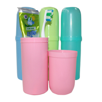 Travel wash cup toothbrush toothpaste Cup set men and women travel supplies mouthwash Cup wash bag