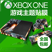 XBOX One fashion personality body Sticker Game Theme host Protection film full-body sticker pain Sticker