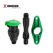 (Upgraded version) 6 points quick water valve plunger one inch quick water bar lawn water bar water valve