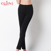 Ancient and modern self-cultivation stretch three-dimensional high waist leggings were thin and comfortable trousers autumn pants female 3f866