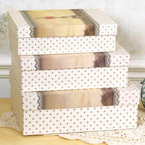 Yihe Nuo exquisite gift box carton box 21 each with large medium and small three