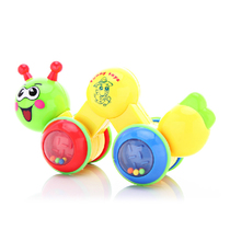 Bell Kang 120-1 crawling music Music insects cartoon caterpillar Bell climbing music baby learning crawling toys