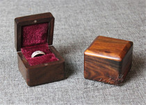 Mahogany small box red Rosewood wooden box wooden ring box jewelry box solid wood goods box storage box collection box