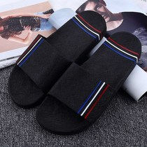 Cool slippers home female soil indoor non-slip bath bathroom empty tide summer skewers male summer shoes summer