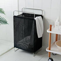 Dirty clothes basket household dirty clothes storage basket Nordic folding Toy Box simple put clothes bucket laundry Lou