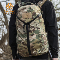 Instructor tactical lightweight backpack spring and autumn breathable Commando Army mountaineering camouflage attack bag multi-functional shoulder bag