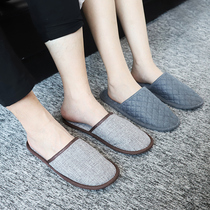 Travel portable folding slippers female Men business trip hotel slippers cool slippers summer home slippers guests drag
