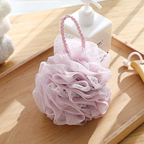 Bath bath ball adult large bath flower scrub wash back baby children bath rub bubble net bath flower toiletries