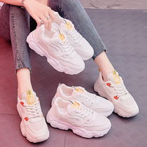 Sneakers womens autumn and winter hundred set running 2019 new autumn student leisure autumn shoes breathable autumn small white tide shoes