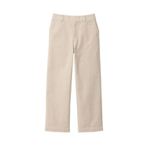Muji MUJI womens elastic corduroy lightweight wide pants