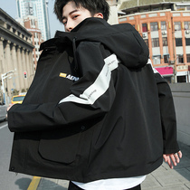 Men's jacket 2019 new spring and autumn youth wild Korean trend of street fashion wild clothes