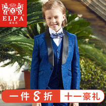 ELPA children Suit Suit flower girl dress boy suit baby baby piano catwalk costume British style