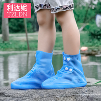 Waterproof sets of shoes rain boots sets of childrens ladies outdoor non-slip thickening wear-resistant lightweight fashion rain boots sets of men summer