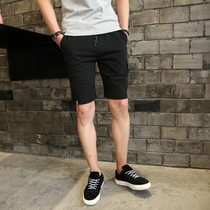 French Eagle 2018 summer sports pants men's shorts casual pants 5 points Beach Fashion loose running tide