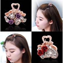 Japan and South Korea hair accessories headdress mini small catch clip Rhinestone bangs hairpin hairpin top clip edge clip catch clip catch hair jewelry