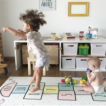 ins explosion models custom children's room game carpet climbing climbing mat game carpet jumping house digital non-slip mats