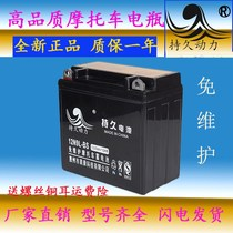 Motorcycle battery 12v9a universal 12N9L-BS motorcycle battery 125 dry battery