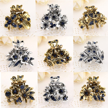 4-5 PCs retro headdress hairpin clip small hairpin adult hairpin hair accessories children cute bangs clip top clip