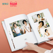 Photo book making DIY travel creative album making photos birthday gift Custom Photo Tour album