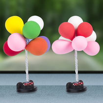 Car decoration advertising balloon car cute creative personality small fresh dashboard car decorations