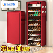 Simple shoe dust shoe rack multi-storey home dormitory door economy indoor good-looking storage artifact large capacity