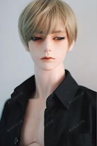 bjd doll 3 points uncle open eyes half sleep ZAK with ID75 SD doll
