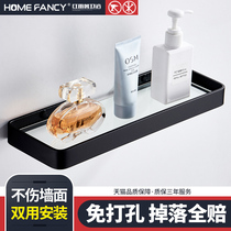 Punch-free toilet rack wall toilet bathroom storage rack washing machine wash desk suction wall