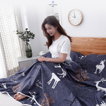 Travel hotel dirty sleeping bag adult indoor hotel double bed quilt cover portable business travel cotton