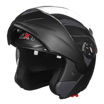 GXT men and women dual lens electric motorcycle helmet helmet full recovery anti-fog helmet four seasons full helmet