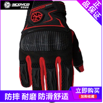 Sai yu motocross gloves men's drop wear-resistant breathable motorcycle riding all refers to the four seasons locomotive Knight equipment