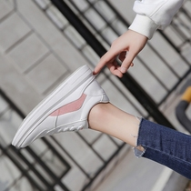 KX small white shoes new wild students leisure street shoot thick white shoes Korean female Spring Summer Hong Kong style shoes
