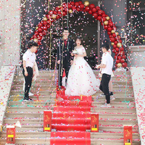 Wedding supplies wedding gift gun electronic ceremony opening color spray flower barrel protocol outdoor fireworks super-loud