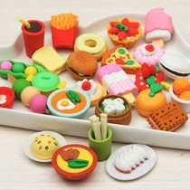 Like leather wipe cartoon available Primary School students featured assembled writing toys cute fruit and vegetable bag small eraser