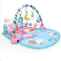 Baby Baby Infant 0 music fitness rack pedal piano male and Female Toys 3 months old newborn bed Bell