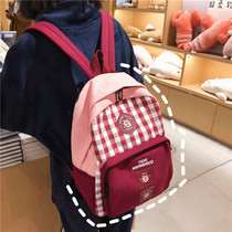 bf wind Japanese vintage sense girl bag Korean high school wild ins Super fire backpack college students backpack