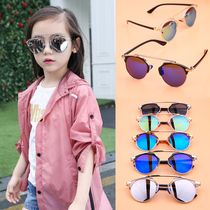 2018 New Children Korean fashion sunglasses boys and girls baby cartoon princess anti-UV sunglasses 2-13 years old