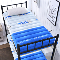 Single bed padded mattress washed student dormitory bed mattress folding pad was 1 2 meters bedroom bed and down 0 9m