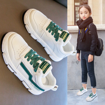 Girls shoes 2019 autumn and Winter new fashion children's shoes white shoes spring children's sneakers winter