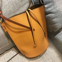 Choi Leather Factory homemade heavy inside and outside full leather head layer cowhide leather bucket female packets shoulder oblique strap