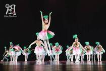 The ninth small lotus style grass Sky children's dance Tutu costumes stage performance costumes