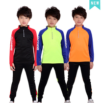67dec7d82 ... leggings pants sports sweater. USD 50.02. Children's soccer training  clothes pupils long-sleeved football suits running fitness sportswear  spring and ...