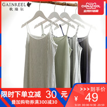 GE ruier sweet cute sexy Sling pajamas summer fashion can wear nightdress home service HWD19167
