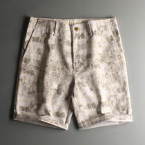 K withdraw goods without tag is not the same camouflage comfortable thin section summer casual shorts XX-120