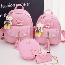 2018 New bags Girls shoulder bag fashion Princess Kindergarten schoolbag girl pupils travel small backpack