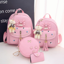 Cute Kids fashion shoulder bag girl small backpack kindergarten schoolbag schoolboy girl Princess Travel Bag Tide
