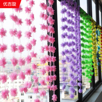 National Day Mid-Autumn festival decorations jewelry shop gold shop creative romantic ceiling ornaments shopping window scene layout