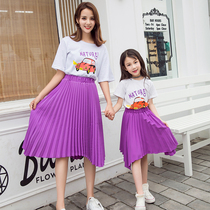 Tide children's wear girl summer suit 2019 new fashion foreign fashion clothes child female baby Big children fashion